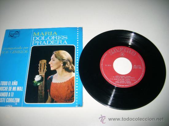 Discos de vinilo: MARIA DOLORES PRADERA con LOS GEMELOS (1965 ZAFIRO ESPAÑA) Pa todo el año - Foto 3 - 33559727