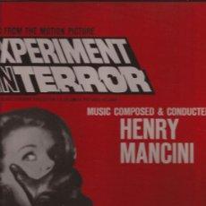 Discos de vinilo: LP-EXPERIMENT IN TERROR-HENRY MANCINI-REED.FRESH SOUND-RCA-1972-. Lote 33559325