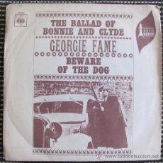Discos de vinilo: GEORGIE FAME - THE BALLAD OF BONNIE & CLYDE - SINGLE ESPAÑOL 1968. Lote 33559365