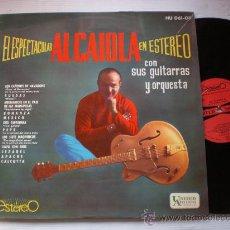 Discos de vinilo: AL CAIOLA, ESPECTACULAR EN STEREO, LP HISPAVOX ESPAÑA 1963, EXCELENTE ESTADO. Lote 33562674
