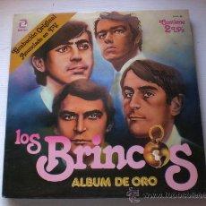 Discos de vinilo: LOS BRINCOS, ALBUM DE ORO, 2LPS. DOBLE PORTADA ZAFIRO 1981 ESPAÑA, VER FOTOS, EXCELENTE ESTADO. Lote 33563337