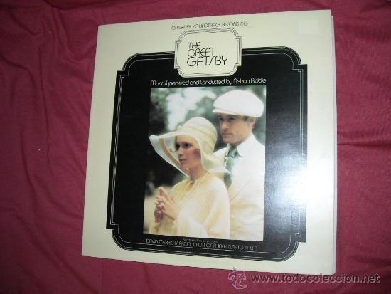 EL GRAN GATSBY (THE GREAT GATSBY LP BANDA SONORA ORIGINAL NELSON RIDDLE PORTADA DOBLE SWEDEN (Música - Discos - LP Vinilo - Bandas Sonoras y Música de Actores )