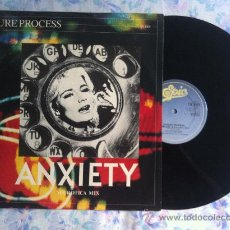 "Discos de vinilo: 12"" MAXI-LEISURE PROCESS ANXIETY. Lote 33565439"