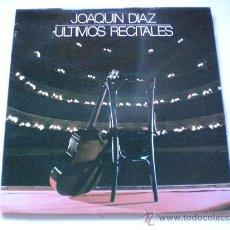 Discos de vinilo: JOAQUIN DIAZ, ULTIMOS RECITALES, LP FONOMUSIC 1984, NUEVO OFERTA. Lote 33566137