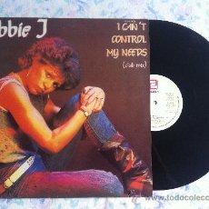 "Discos de vinilo: 12"" MAXI-DEBBIE J-I CAN'T CONTROL MY NEEDS-PROMOCIONAL. Lote 33566662"
