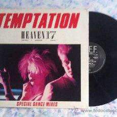 "Discos de vinilo: 12"" MAXI-HEAVEN 17-TEMPTATION. Lote 33567129"