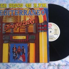 "Discos de vinilo: 12"" MAXI-MEDITERRANEO-DIME QUE BEBES-PROMO. Lote 33567498"