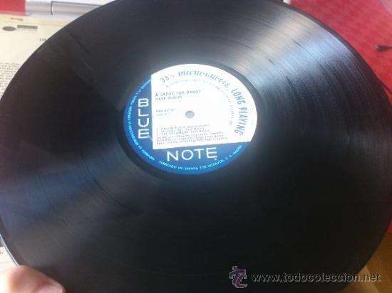 Discos de vinilo: Hank mobley A caddy for daddy lp Blue note Original 1968 HBN 451 09 - Foto 5 - 139459546