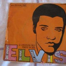 Discos de vinilo: ELVIS - LA LARGUIRUCHA SALLY - PRIMERO EN LINEA - RCA VICTOR 1968. Lote 33632144