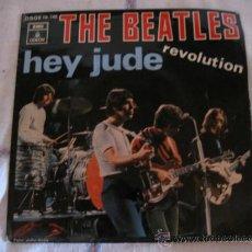 Discos de vinilo: THE BEATLES : HEY JUDE Y REVOLUTION. EMI-ODEON 1968. Lote 33644321