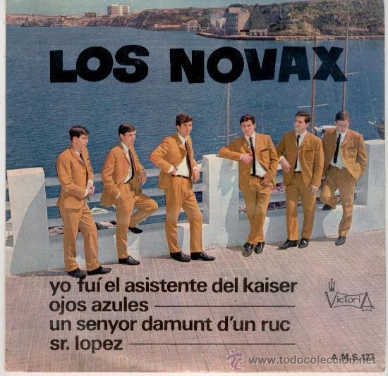 LOS NOVAX - YO FUI EL ASISTENTE DEL KAISER + 3 - EP SPAIN 1967 VG++ / VG++ (Música - Discos de Vinilo - EPs - Grupos Españoles 50 y 60)