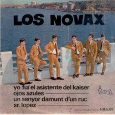 Discos de vinilo: LOS NOVAX - YO FUI EL ASISTENTE DEL KAISER + 3 - EP SPAIN 1967 VG++ / VG++. Lote 33613574