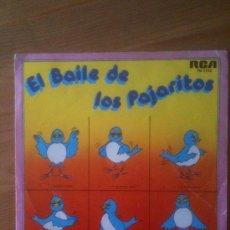 Discos de vinilo: BAILE DE LOS PAJARITOS - ORQUESTA TABACO - RCA 1981. Lote 33620894