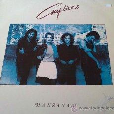 Discos de vinilo: CÓMPLICES, MANZANAS. Lote 33626484