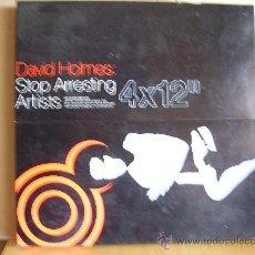 """Discos de vinilo: DAVID HOLMES ---- STOP ARRESTING ARTIST - 4 X 12 """". Lote 33632132"""