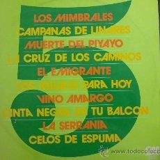 Discos de vinilo: 5, LOS MIMBRALES - GUITARRAS: ANTONIO ARENAS, J. MARÍA PARDO - DISCO DE VINILO LP. Lote 33652119