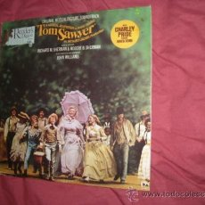 Discos de vinilo: TOM SAWYER LP BANDA SONORA ORIGINAL TRIPLE CARATULA DIRIGIDA Y ADAPATADA POR JOHN WILLIAMS. Lote 33652147