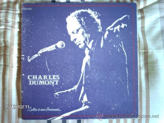 CHARLES DUMONT LETTRE A UNE INCONNUE (Música - Discos - LP Vinilo - Canción Francesa e Italiana)