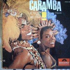 Discos de vinilo: ROBERTO DELGADO Y SU ORQUESTA CARAMBA . Lote 33673174