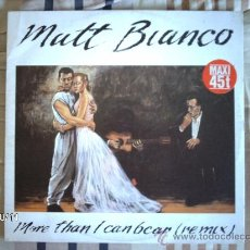 Discos de vinilo: MATT BIANCO MORE THAN I CAN BEAR . Lote 33678224