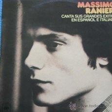 Disques de vinyle: MASSIMO RANIERI,GRANDES EXITOS EN ESPAÑOL Y ITALIANO EDICION ESPAÑOLA DEL 77. Lote 33655705
