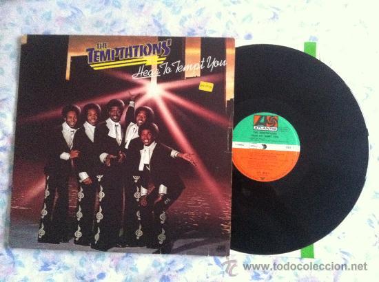 LP TEMPTATIONS-HEAR TO TEMPT YOU (Música - Discos - LP Vinilo - Pop - Rock - Extranjero de los 70)