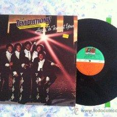 Discos de vinilo: LP TEMPTATIONS-HEAR TO TEMPT YOU. Lote 33657624
