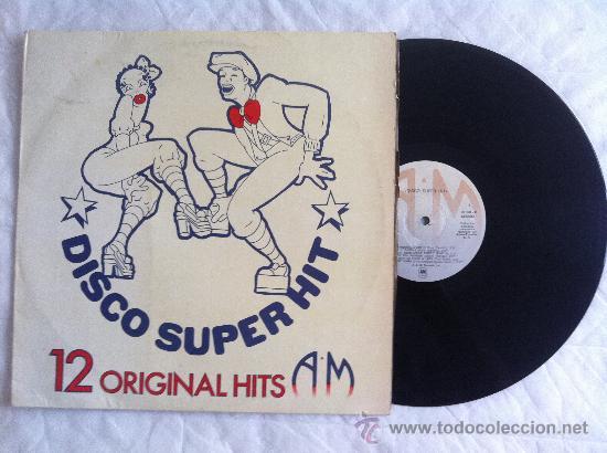 LP DISCO SUPERHIT 12 ORIGINAL HIT (Música - Discos - LP Vinilo - Pop - Rock - Extranjero de los 70)
