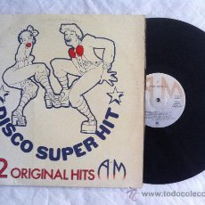 Discos de vinilo: LP DISCO SUPERHIT 12 ORIGINAL HIT. Lote 33658419