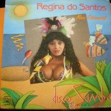 Discos de vinilo: REGINA DO SANTOS - MEU CARNAVAL (MEDLEY) - MAXISINGLE ESPAÑOL DE 1988. Lote 33658556