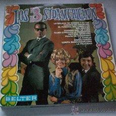 Discos de vinilo: LOS 3 SUDAMERICANOS, LA BALADA DE BONNIE..LP BELTER 1968, SEMINUEVO. Lote 33658560