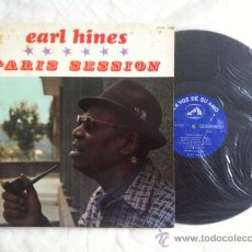 Discos de vinilo: LP EARL HINES-PARIS SESSION. Lote 33661695