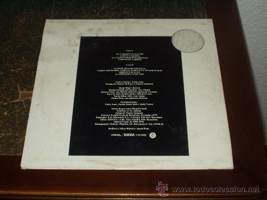 Discos de vinilo: SISA LP GALETA GALACTICA TERCER ALBUM PROGRESIVO ESPAÑOL PSYCH - Foto 2 - 33662976