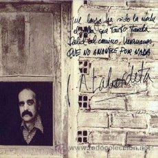 Discos de vinilo: JOSÉ ANTONIO LABORDETA - QUE NO AMANECE POR NADA. Lote 33664026