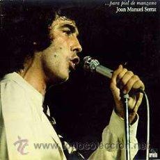 Discos de vinilo: JOAN MANUEL SERRAT. Lote 33664172