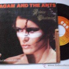 Discos de vinilo: ADAM AND THE ANTS, PRINCE CHARMING, SINGLE CBS ESPAÑA 1982, EDIC. SPECIAL GATEFOLD, NUEVO. Lote 33664245