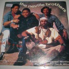 Discos de vinilo: THE NEVILLE BROTHERS BIRD ON A WIRE (1990 A&M GERMANY) LEONARD COHEN DANIEL LANOIS. Lote 33664350