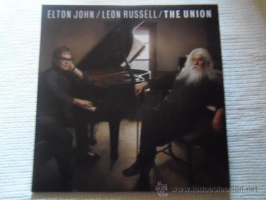 ELTON JOHN / LEON RUSSELL - '' THE UNION '' 2 LP + LINK (Música - Discos - LP Vinilo - Pop - Rock Extranjero de los 90 a la actualidad)