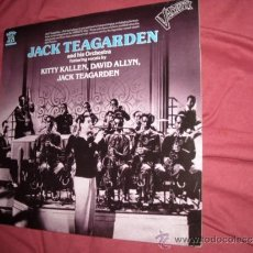 Discos de vinilo: JACK TEAGARDEN AND HIS ORCHESTRA FEATURING VOCALS BY KITTY KALLEN, DAVID ALLYN, JACK TEAGARDEN LP . Lote 33676531