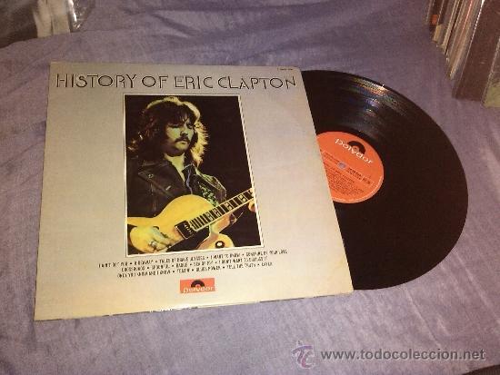 HISTORY OF ERIC CLAPTON 2 LP 1972 POLYDOR (Música - Discos - LP Vinilo - Pop - Rock - Extranjero de los 70)