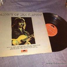 Discos de vinilo: HISTORY OF ERIC CLAPTON 2 LP 1972 POLYDOR . Lote 49844478