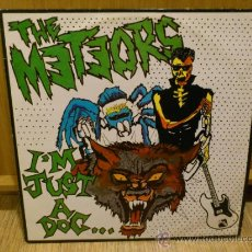 Discos de vinilo: THE METEORS I'M JUST A DOG VINILO 12 PULGADAS MUY RARO PSYCHOBILLY PUNK RNR . Lote 33680221