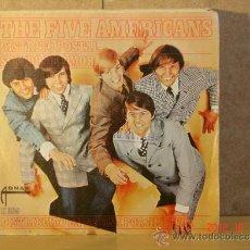 Discos de vinilo: THE FIVE AMERICANS - DISTRITO POSTAL / SONIDO DE AMOR - ABNAK-HISPAVOX H 209 - 1967. Lote 33684821