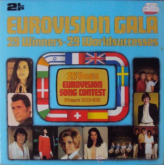 LP DOBLE: EUROVISION GALA. 29 WINNERS 1956-1981 POLYDOR. SIN ESCUCHAR (Música - Discos - LP Vinilo - Festival de Eurovisión)