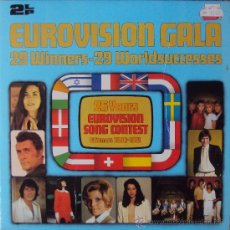 Discos de vinilo: LP DOBLE: EUROVISION GALA. 29 WINNERS 1956-1981 POLYDOR. SIN ESCUCHAR. Lote 33686174