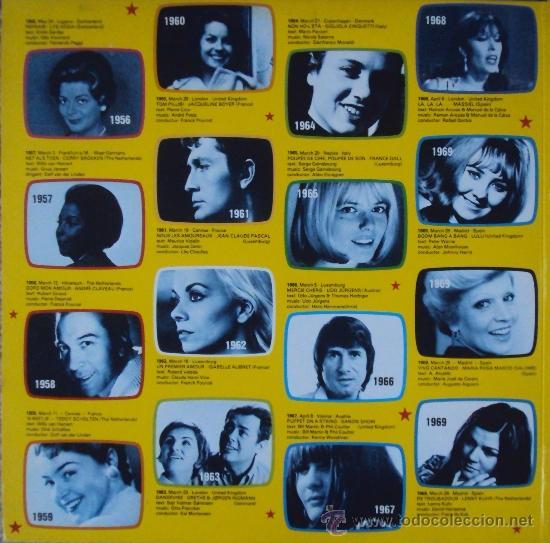 Discos de vinilo: LP DOBLE: EUROVISION GALA. 29 WINNERS 1956-1981 POLYDOR. SIN ESCUCHAR - Foto 3 - 33686174
