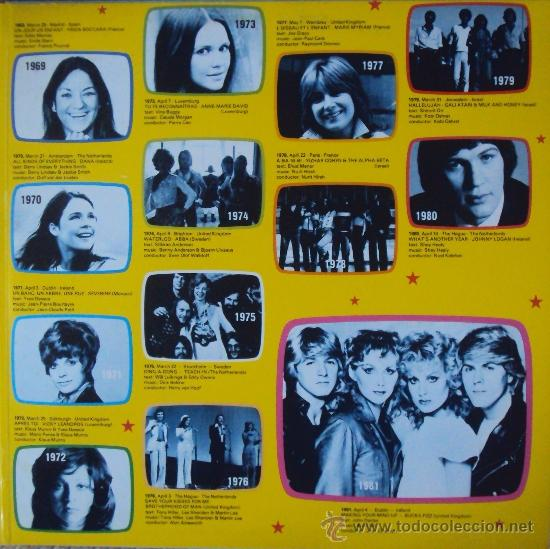 Discos de vinilo: LP DOBLE: EUROVISION GALA. 29 WINNERS 1956-1981 POLYDOR. SIN ESCUCHAR - Foto 4 - 33686174