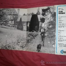 Discos de vinilo: ALAIN BARRIERE LP 196? BARCLAY FRANCE VEDETTES PORTADA DOBLE VER FOTO ADICIONAL. Lote 33688573