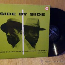 Discos de vinilo: DUKE ELLINGTON JOHNNY HODGES SIDE BY SIDE LP VINILO JAZZ VERVE. Lote 33690095