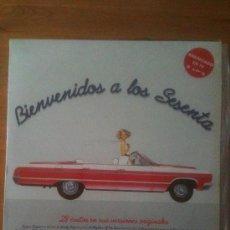 Discos de vinilo: BIENVENIDOS A LOS SESENTA - ANUNCIADO EN TV - 2 LPS - AÑO 1991. Lote 33690259